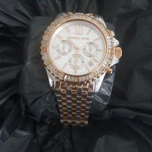 Michael Kors tri-color watch